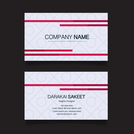 Name card modern simple business card template vector illustration name card modern simple business card template vector illustration stock vector 55740758 flashek Choice Image