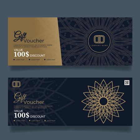 gold floral: Gift Voucher Premier Color