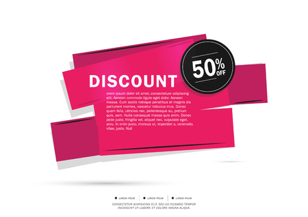 50  off: Super Sale and special offer. 50% off