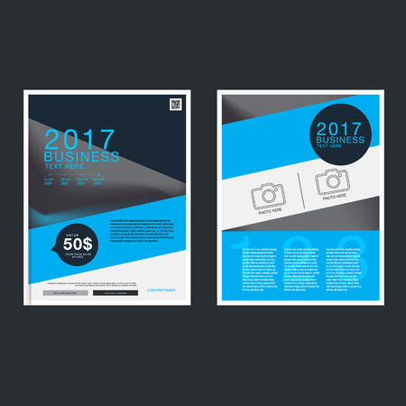 Presentation book cover templates book cover layout design,Vector annual report Leaflet Brochure Flyer template design Ilustrace