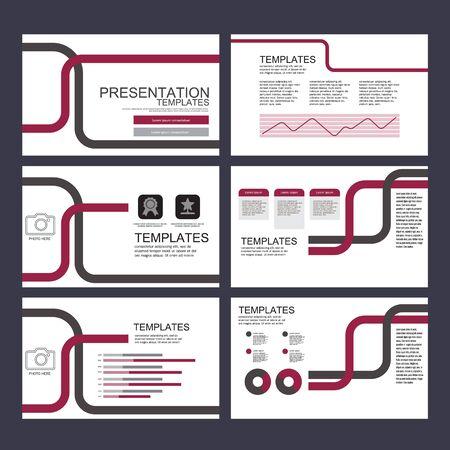 Presentation Template Vector