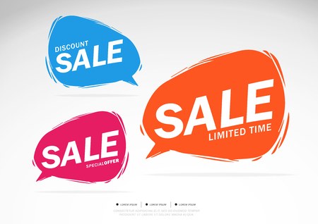Sale Discount offer,Limited Time,Special Offer Vector illustration.Theme color.