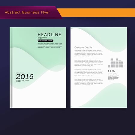 magazine template: Cover Brochure report business magazine poster template. Flyers design template