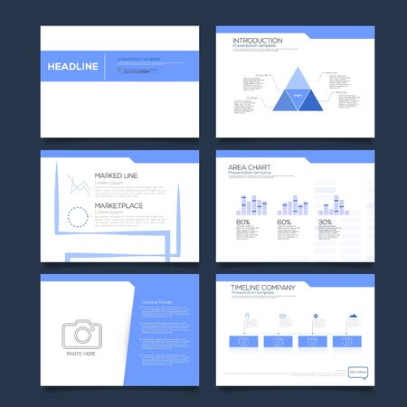 Presentation Design Template Vector Design.
