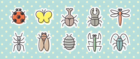 10 icon sets (creatures/insects)