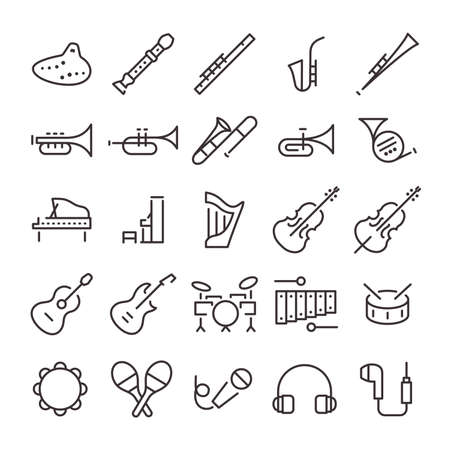 25 Icon Set No.20 (Music)