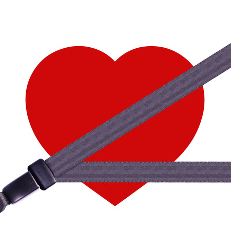 seatbelt: Health insurance concept