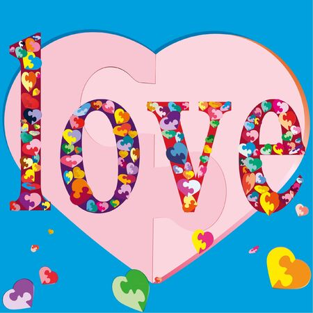 Symbols of mutual colorful love