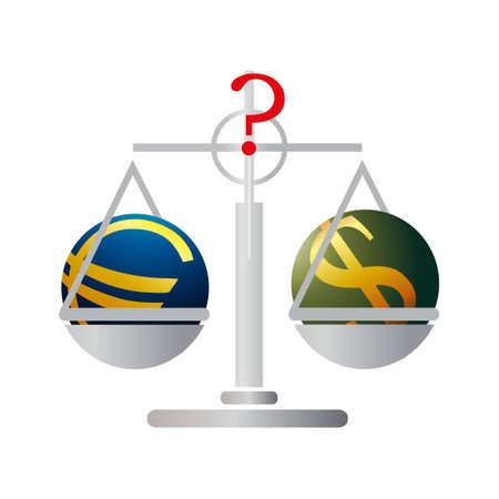 relaciones laborales: Equilibrio con el euro y el dólar de EE.UU.