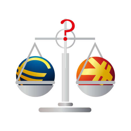 relaciones laborales: Equilibrio con el Euro y el Yuan