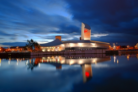 Imperial war museum salford quays manchester