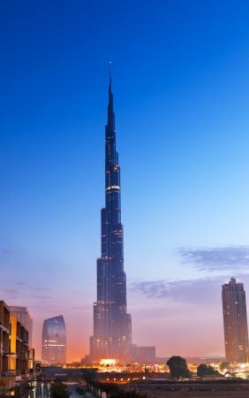 Burj Al-Khalifa is the tallest building in Dubai and in the world