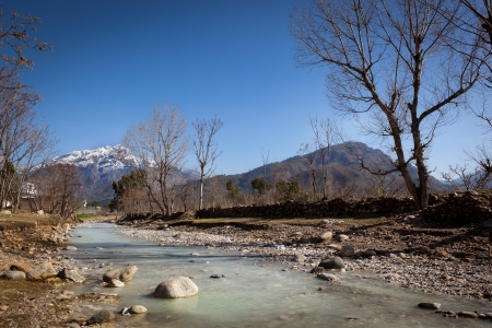 pakistan: A beautiful landscape of Swat Pakistan  Stream and mountains presenting perfect landscape