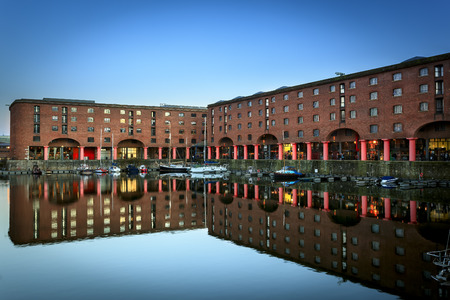 mooring: The Albert Dock is a complex of dock buildings and warehouses in Liverpool, England