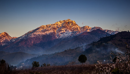 Mount Ilam is the highest peak in Buner district which borders Swat Pakistan