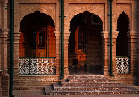 corridors: One of the corridors of historic Islamia College Peshawar.