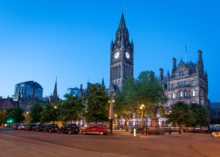great hall: Manchester Town Hall is a Victorian, Neo-gothic municipal building in Manchester, England. Editorial
