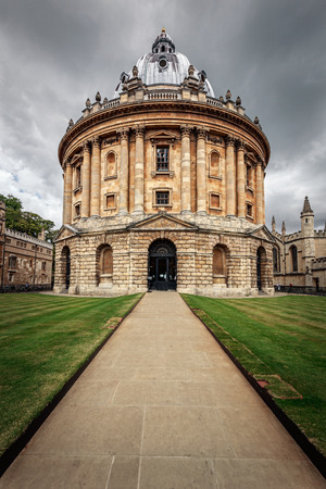 The Bodleian Library, the main research library of the University of Oxford, is one of the oldest libraries in Europe and England  photo