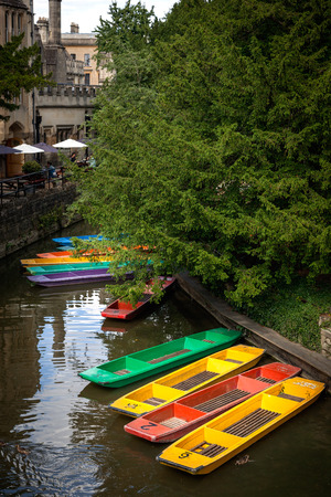 punt: traditional Oxford punt, rowing boat or pedalo for cruising along Oxford