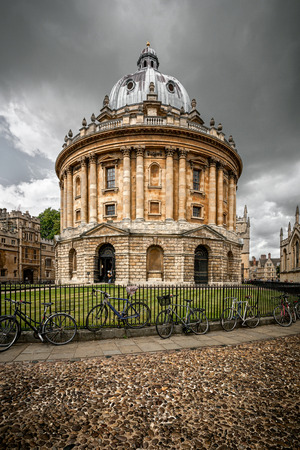 The Bodleian Library, the main research library of the University of Oxford, is one of the oldest libraries in Europe and England.