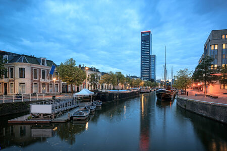 Achmea-Toren is the tallest building in Leeuwarden and Friesland province.