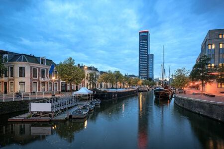 leeuwarden: Achmea-Toren is the tallest building in Leeuwarden and Friesland province.