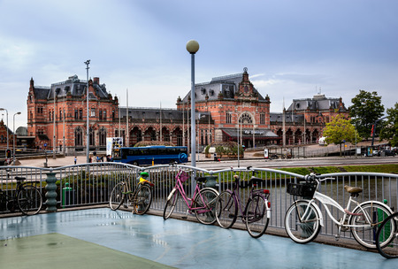 Groningen train station is a beautiful building located in Groningen, capital of eponymous provice of Netherlands.
