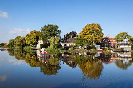Broek in Waterland is pittoresk dorpje aan de rand van Amsterdam, Holland.