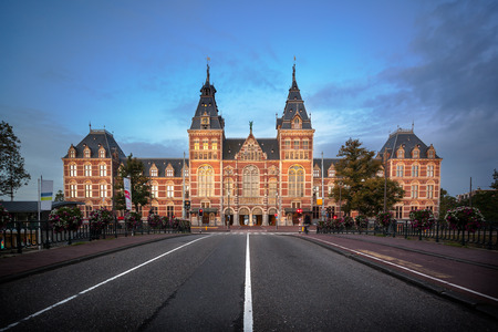 The Rijksmuseum is a Netherlands national museum dedicated to arts and history in Amsterdam Editorial