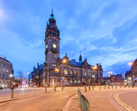 Sheffield Town Hall is a building in the City of Sheffield England.