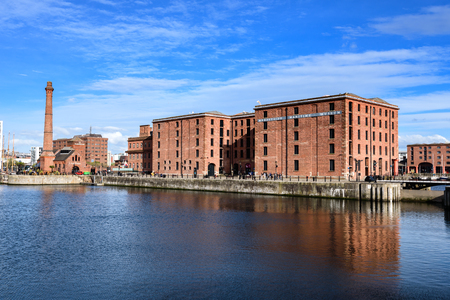 waterfront: The Merseyside Maritime Museum is a museum based in the city of Liverpool Merseyside England UK.