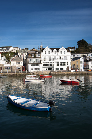 south west england: St Mawes a cornish village in Cornwall, South west England