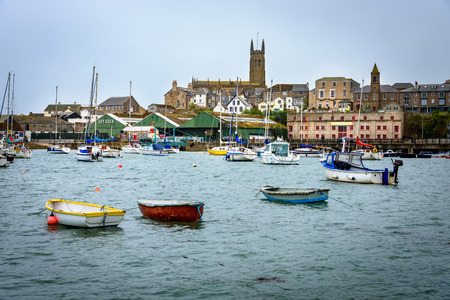 mousehole: Penzance is a town, civil parish and port in Cornwall, in England, United Kingdom Editorial