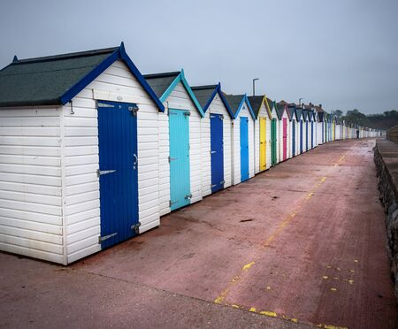 devon: Quirky beach hut breaks on the coast of North Devon.