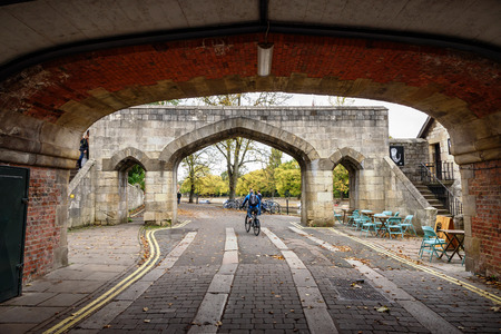 funded: York Uk cycle track funded by City of York Council and British cycling.