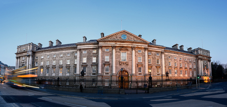 constituent: Trinity College is the sole constituent college of the University of Dublin, a research university in Ireland.
