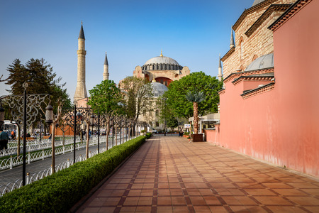 empires: Hagia Sophia is a great architectural beauty and an important monument both for Byzantine and for Ottoman Empires in Istanbul Turkey