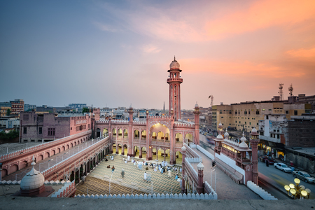 worshipers: View of Sunehri Masjid,located at Sunehri masjid road Peshawar, Pakistan.