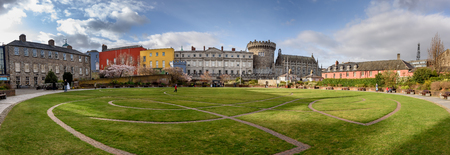 Dublin Castle  off Dame Street, Dublin, Ireland,  is  a major Irish tourist attraction. Editorial