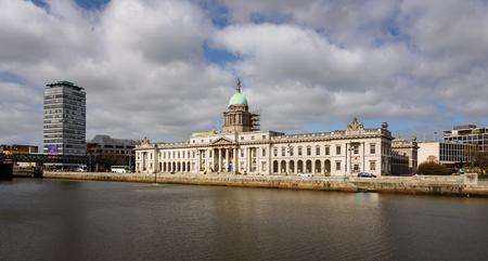 urbanized: The Custom House is a neoclassical 18th-century building in Dublin, Ireland