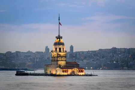 bosporus: Maidens Tower is one of Istanbuls most instantly recognizable landmarks.