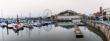 seaside: Torquay is a seaside resort town on the English Channel in Devon, South West England. Known for beaches