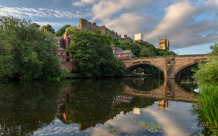 Durham Cathedral occupies a strategic position on a promontory high above the River Wear.