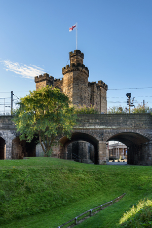 gave: The Castle, Newcastle is a medieval fortification in Newcastle upon Tyne, England, built on the site of the fortress which gave the City of Newcastle its name.