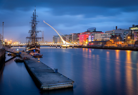 samuel: The River Liffey  is a river in Ireland, which flows through the centre of Dublin.