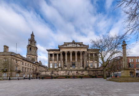 The City of Preston is a city and non-metropolitan district in Lancashire, England.