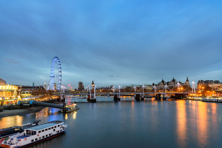 panoramas: Big Ben, the London Eye and Houses of Parliament captured in stunning panoramas of London skyline.