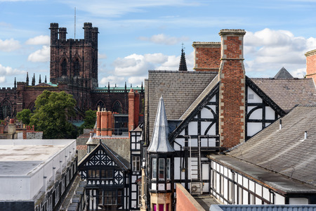 Chester Cathedral is a Church of England cathedral and the mother church of the Diocese of Chester. It is located in the city of Chester, Cheshire, England.