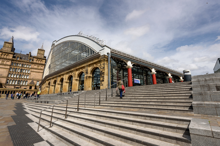 terminus: Liverpool Lime Street is a terminus railway station, and the main station serving the city centre of Liverpool Editorial
