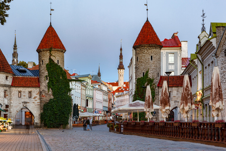 14th century: The barbican of Viru Gate was part of the defence system of Tallinn city wall built in the 14th century.